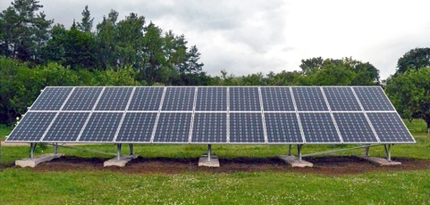 5,5 kW tīkla sistēma Līgatnē